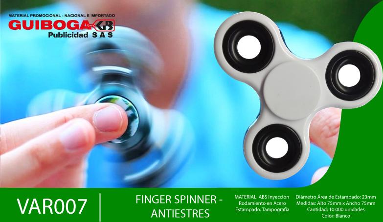 NUEVO!! - Finger Spinner Antiestrés
